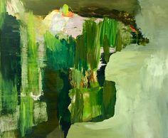 """ Mirroring vibrant green "" Bjørnar Aaslund. 2016."