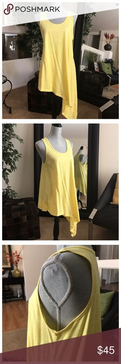"""🆕Cha Cha Vente Tunic 100% Cotton.  Machine washable.  Approx 43"""" longest length, 28-1/2"""" shortest length shoulder to hem.  Never worn, new without tags. Tops"""
