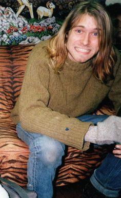 Kurt Cobain Lindo!!!/So beautiful!!