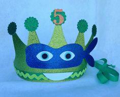 Teenage Mutant Ninja Turtles Birthday Crown by LittlePinkTractor
