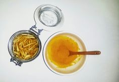 """Let food be thy medicine and medicine be thy food."" -Hippocrates. Natural Remedy for Cold & Soar throat = Turmeric + Honey! (www.naturalnibs.com)"