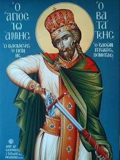 Ο Άγιος Ιωάννης ο Βατάτζης, ο Αυτοκράτωρ.