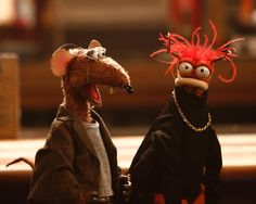 Look in my eyes and say you love me... and that you'll watch me on #TheMuppets tomorrow at 8:30|7:30c on ABC, okay. Pepé the King Prawn, February 2016
