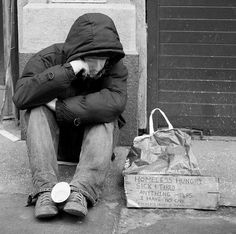 Poverty in America - It's Not What You Think Homeless People, Homeless Man, Helping The Homeless, Homeless Housing, Social Issues, Social Work, Mending A Broken Heart, Broken Leg, Weapon Of Mass Destruction