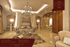 تصميم كلاسيكي لغرف النوم