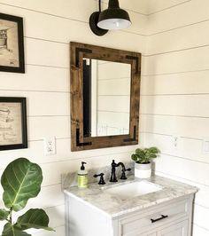 127 best rustic mirrors framed bathroom mirrors handmade mirrors rh pinterest com