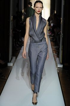 Yves Saint Laurent Spring 2012. Great trousers.