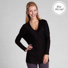 Win an all new BEYOND YOGA Whisper Top on our FB page today!