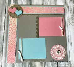 Here are some fun scrapbook pages we made last month at our Scrapbook Class  (sorry if you missed it!).   Don't miss another awesome clas...