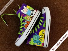 Customize Purple Converse Custom Hand Painted Shoes, High Top Converse Shoes,Custom Converse,Custom Shoes,Painted Shoes,Birthday Gifts on Etsy, $74.00