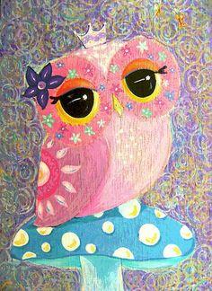 Owl Fairy Princess... cute for owl tatt