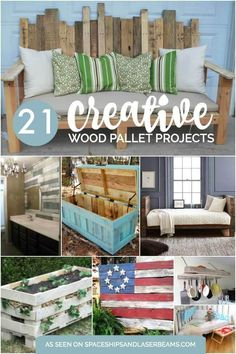 21 Creative Wood Pallet Projects from Spaceships and Laser Beams
