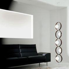 Modern Minimalist Lamp Reminding Of A Caterpillar