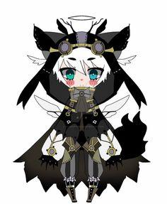 dark angel adoptable CLOSED by AS-Adoptables.deviantart.com on @DeviantArt