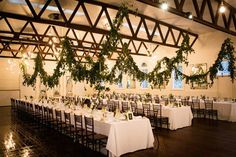 Celeste & Lachlan's Romantic Abbotsford Convent Wedding Wedding Decorations, Table Decorations, Garland, Reception, Wedding Styles, Romantic, Bouquet, Wedding Flowers, Dream Wedding