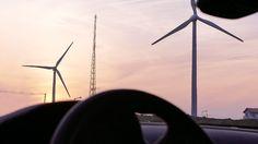 It's #romantic, as a way of flaming #sunset - 점점 붉어지는 #노을 을 바라보는 것만큼  낭만적인 것이 또 있을까요? - #KIA #Motors #NIRO #SUV #car #hybrid #driving #window #Jeju #windmill #sky #beautiful #photooftheday #기아자동차 #니로 #하이브리드 #차창 #제주도 #여행 #낭만 #신창풍차해안도로 #해안도로 #일몰 #일상 #데일리 #자동차 #자동차그램
