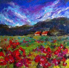 Moy Mackay, artist in felt.                                                                                                                                                      More