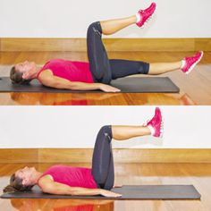 4 exercises from Michelle Bridges to strengthen your glutes and core