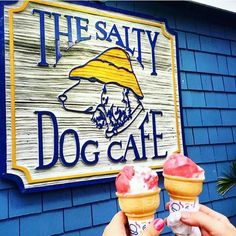 Lowcountry Life | Hilton Head Island, SC | Ice Creams at the Salty Dog Cafe