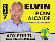 > Elvin Pon busca Alcaldía de #VillaJaragua por el #PQDC #Vota7
