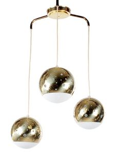 Mid Century Modern Hanging Ball Orb Lamp