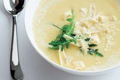 Krémová česnečka | Apetitonline.cz Soup, Ethnic Recipes, Soups