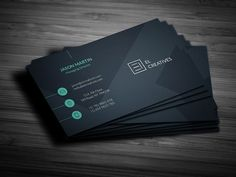 Business card - perfect for any industry. - x with bleed) - 300 DPI CMYK Print Ready! - Full Editable, Layered you can find fonts here: Lato - Company Business Cards, Unique Business Cards, Creative Business, Business Brochure, Business Card Logo, Business Card Design, Find Fonts, Envato Elements, Business Illustration