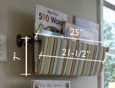 How to make book slings easy alternative and books diy no sew book sling dimensions could do this as a way to organize my solutioingenieria Choice Image