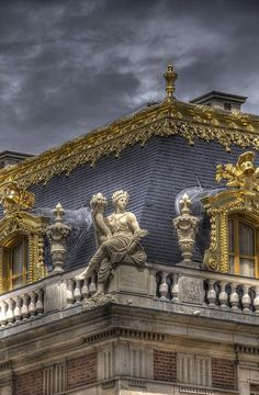 Roof Detail, Palace of Versailles