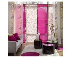 Like the colours, drapes and furniture in this room