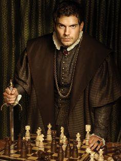 """Henry Cavill on """"The Tudors"""" season 2 promo stills"""