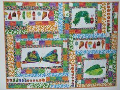 They Very Hungry Caterpillar quilt