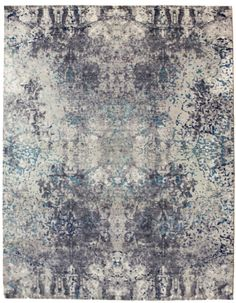 Thrilling intermingling of design transformations in this new 8x10 contemporary rug, part of the Tissage Collection. J37516 www.landryandarcari.com