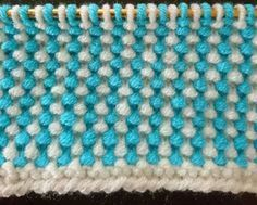 Two Colored Liar Rice Sample Making - Slip Stitch Knitting, Easy Knitting, Knitting Stitches, Knitting Patterns, Easy Crochet Patterns, Stitch Patterns, Yarn Shop, Crochet For Beginners, Blanket