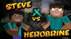 """Steve Vs Herobrine"" - A Minecraft Original Music Video"