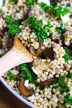 mushroom couscous 3