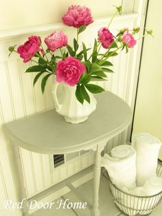 Red Door Home: Chalk Paint Table and Chalk Paint TUTORIAL & TIPS