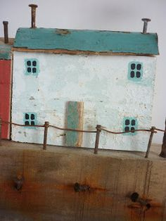 Seaview       Pub On The Pond     Ten days ago, my 5 year-old son found this         An old plank of wood, with remnants of paint and...