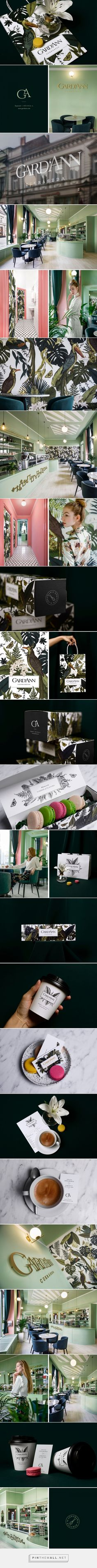 Gard'Ann Patisserie Branding by Kissmiklos