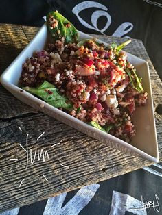 Quinoa Salad with Beets, Spinach & Goat Cheese | Inspiration Nook