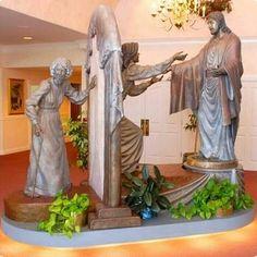 Come unto me sculpture Jesus Eternal life Christian Women, Christian Art, Christian Living, Come Unto Me, Pictures Of Christ, Lds Pictures, Religious Pictures, Religious Art, Lds Art