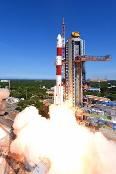 An Indian (ISRO) Polar Satellite Launch Vehicle (PSLV-XL) has deployed twenty satellites – including its primary passenger the Cartosat-2C satellite – on Wednesday in India's fourth orbital launch of the year. Liftoff was on schedule at 09:25 local time (03:55 UTC), launching from the Second Launch Pad at the Satish Dhawan Space Centre.