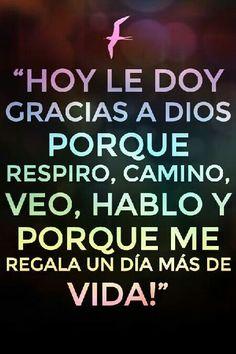 Gracias Dios!.