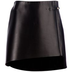 SHARON WAUCHOB structured A-line skirt ($715) ❤ liked on Polyvore