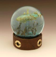 Below the Storm snow globe, Camryn Forrest Designs 2014