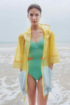 love this swimsuit by #Stella McCartney for Adidas 2014 collection