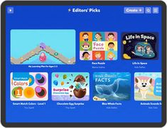 TinyTap - Educational Games and Interactive Lessons Blue Whale Facts, Life In Space, Press Kit, Home Learning, Educational Games, Platform, How To Plan, Blog, Learning Games