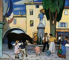 Louis Mathieu Verdilhan (French, 1875-1928) >