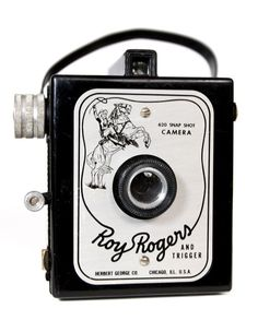 Roy Rogers & Trigger 620 Snap Shot Vintage Box Camera