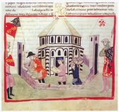 The other day I was looking through the illustrated Cronica Nuova by Giovanni Villani, a medieval chronicler who lived from ca. 1276 unt...